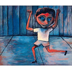 Self Portrait as a Schoolboy - Print - Charles Blackman