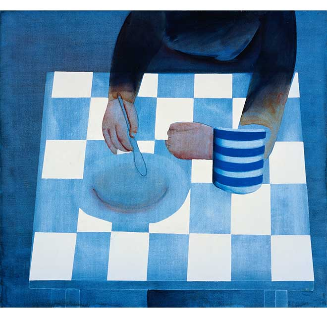 The Repast - Print - Charles Blackman