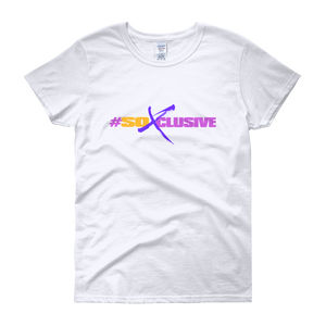 Women's short sleeve t-shirt (SO XCLUSIVE-white)