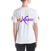 Women's V-neck ALL OVER (SO XCLUSIVE-white)