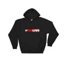 Hooded Sweatshirt (GO LIVE-black)
