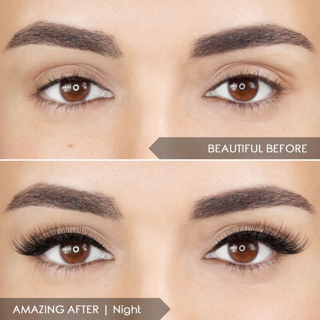 THE EASIEST FALSE LASH APPLICATION EVER!