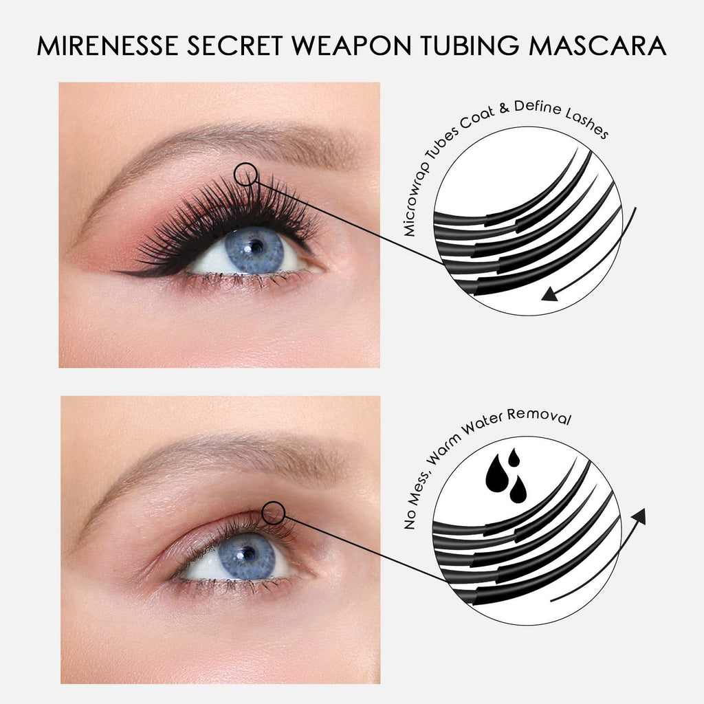 TWIN SECRET WEAPON 24HR MASCARA KIT - SUPER VOLUME