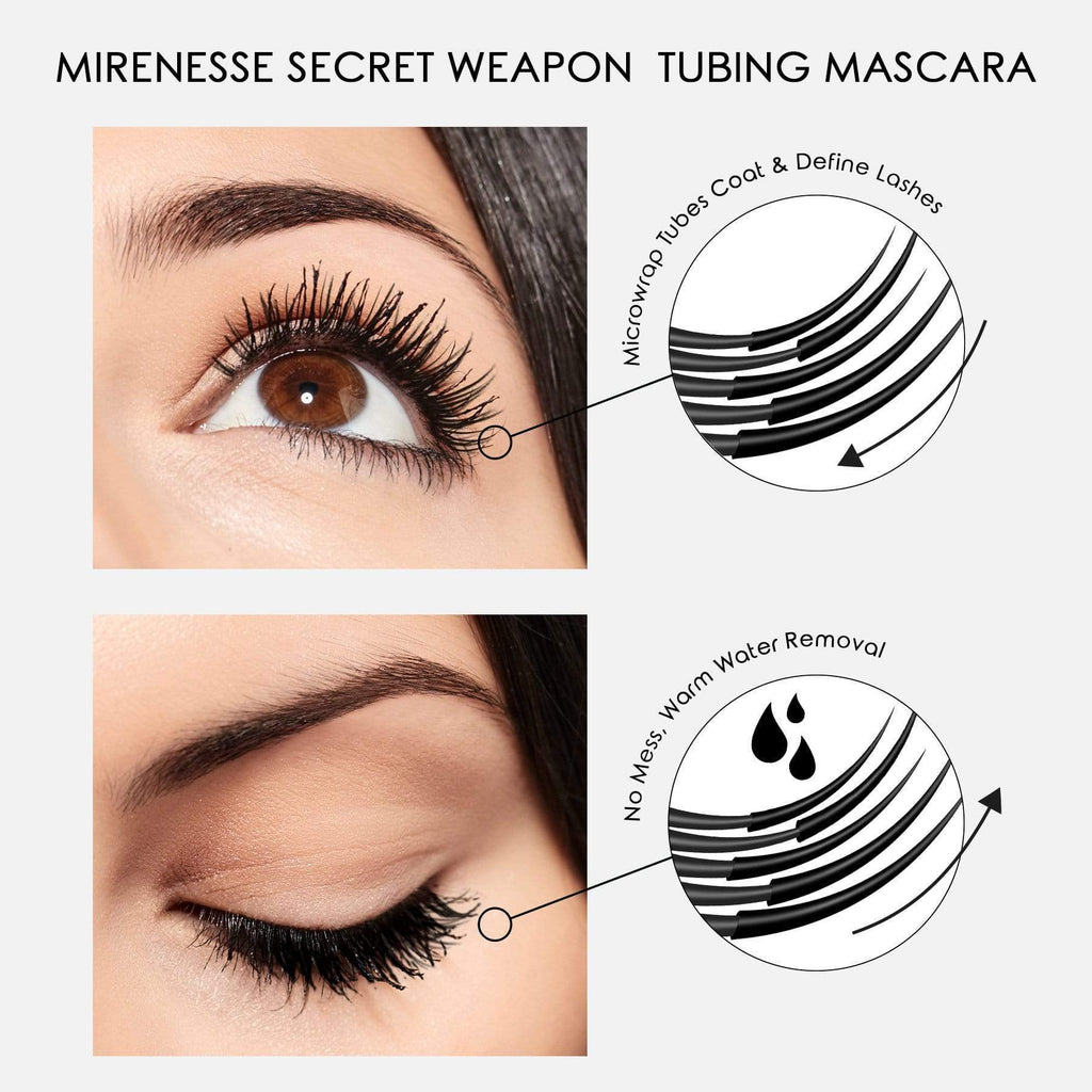 INSTANT LASH TRANSPLANT VOLUMISING MASCARA WITH 4D EXTENSION FIBRES DUET MINI