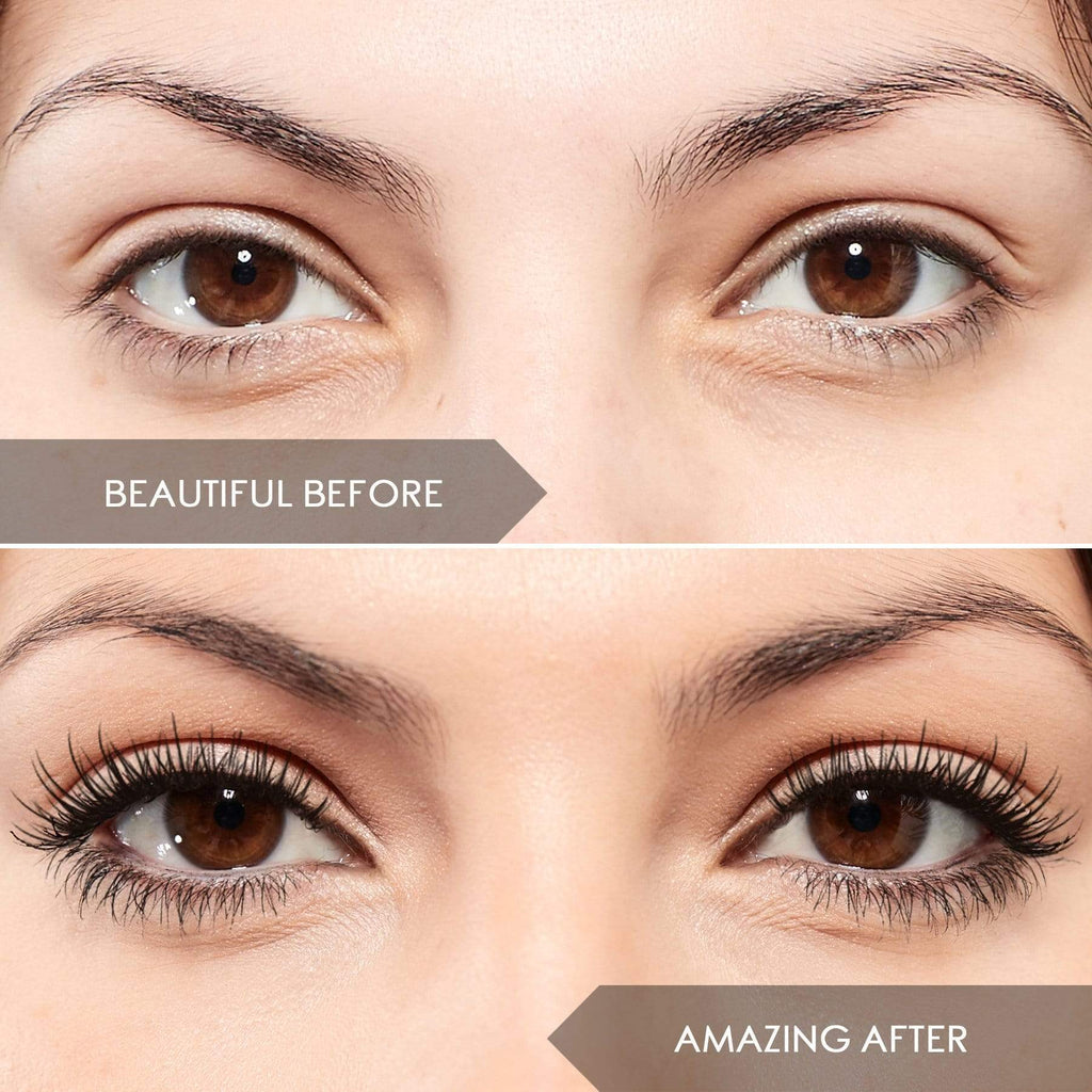INSTANT LASH TRANSPLANT VOLUMISING MASCARA WITH 4D EXTENSION FIBRES 3PCE SET