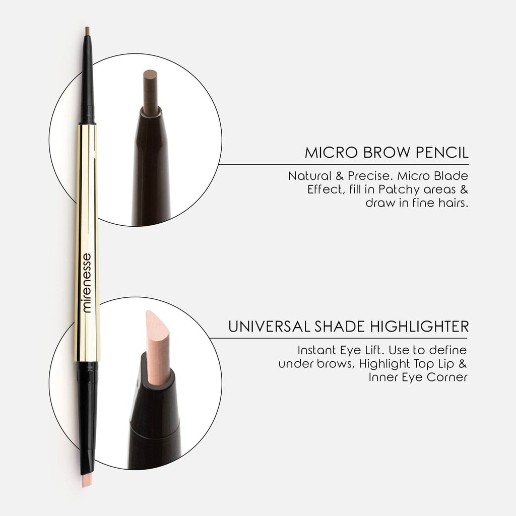 ALL DAY MICRO BROW PENCIL +SHAPING MASCARA 1.TAUPE
