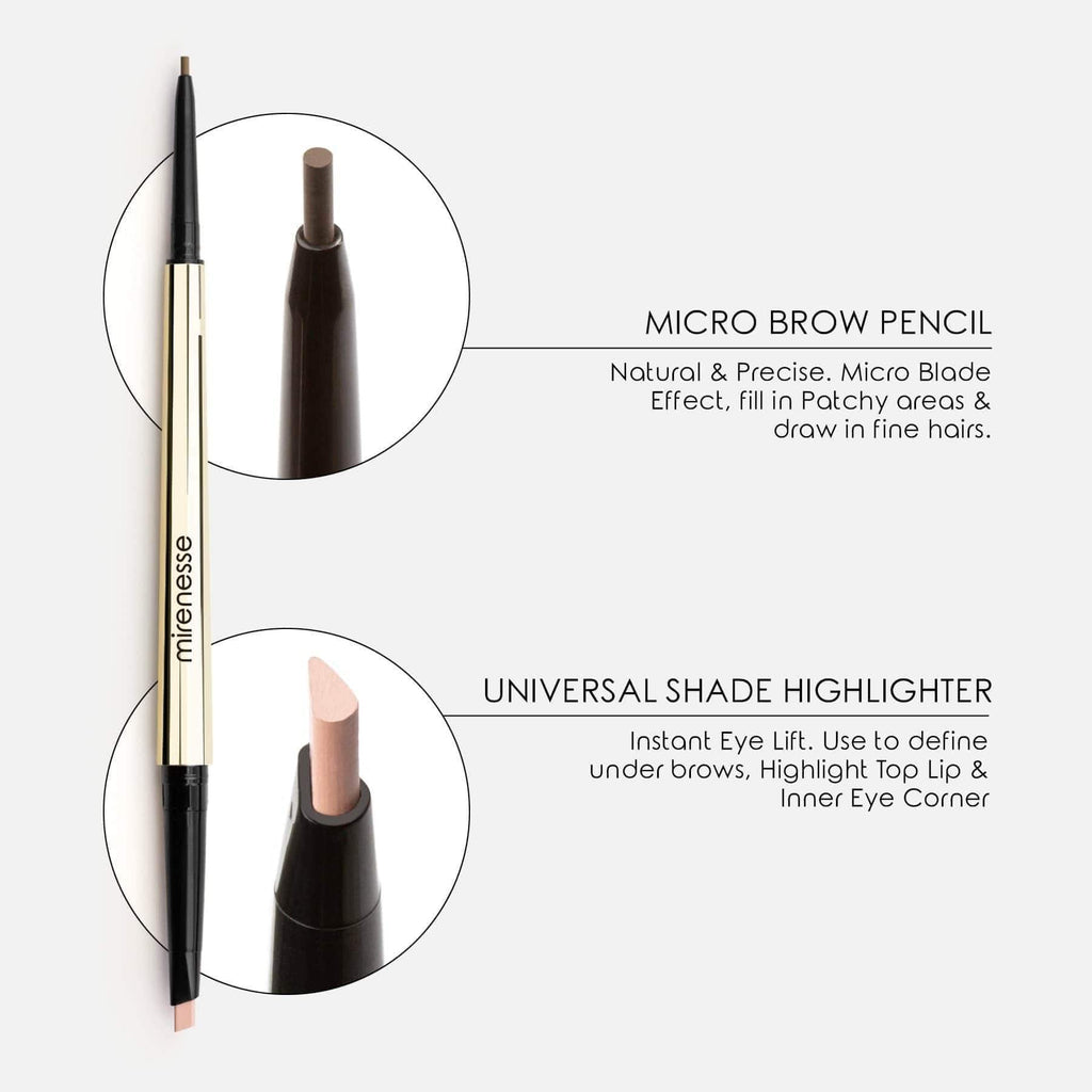 ALL DAY MICRO BROW PENCIL + HIGHLIGHT DEFINER CRAYON- Eyebrow