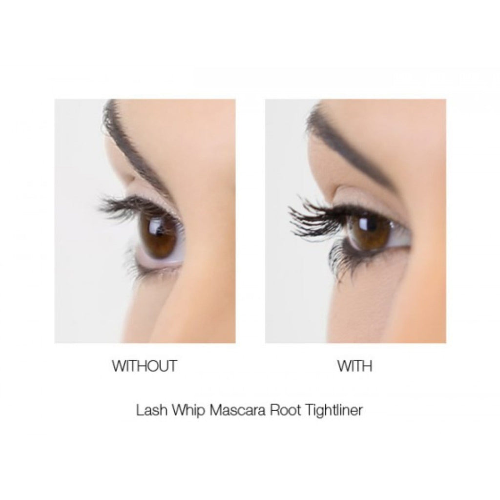 LASH WHIP MASCARA 24HR ROOT TIGHTLINER WITH MICRO BRUSH BLACK