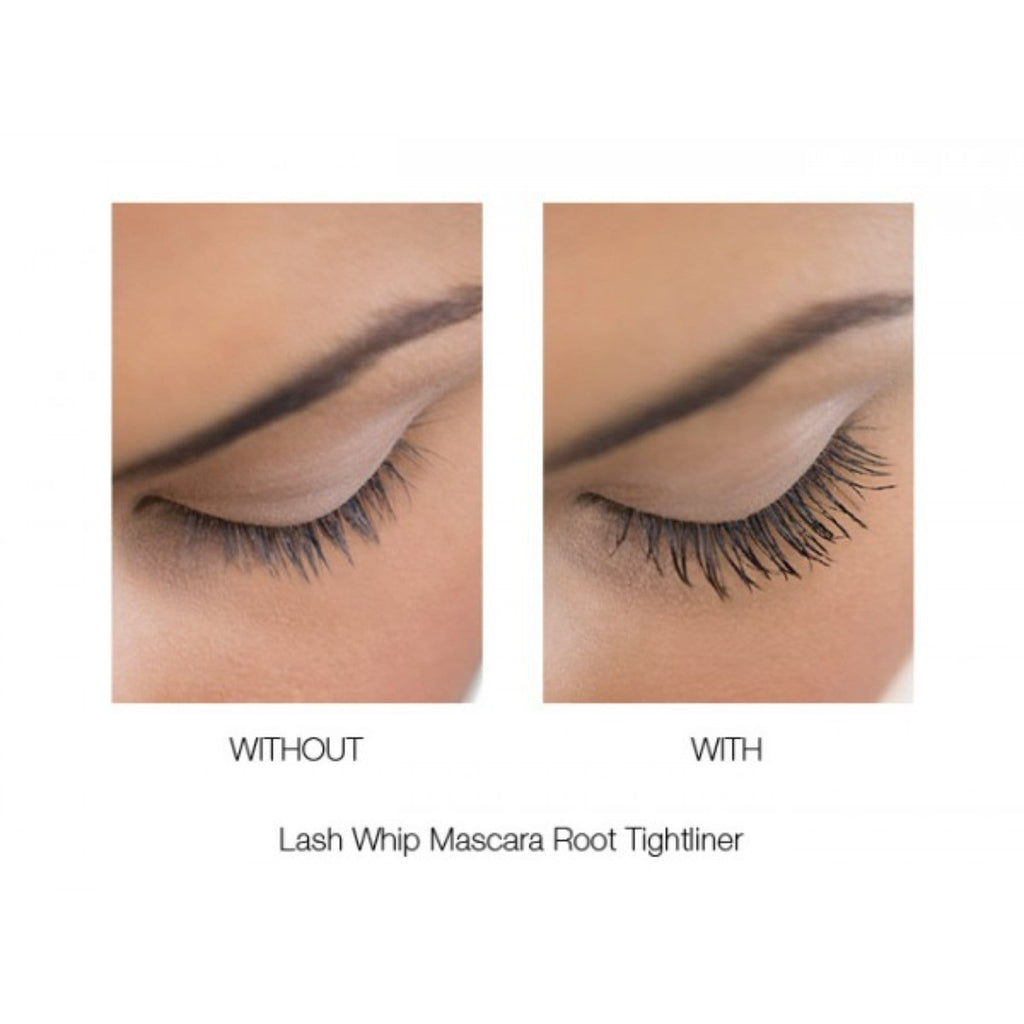 LASH WHIP MASCARA 24HR ROOT TIGHTLINER WITH MICRO BRUSH (BLACK)-LIMIT 3
