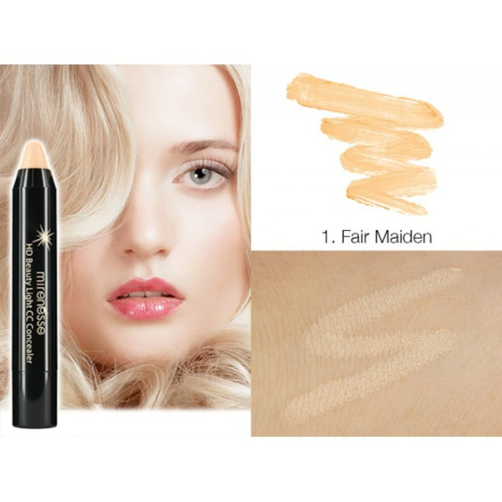 HD BEAUTY LIGHT CC HIGH COVERAGE CONCEALER 3. BARELY BEIGE