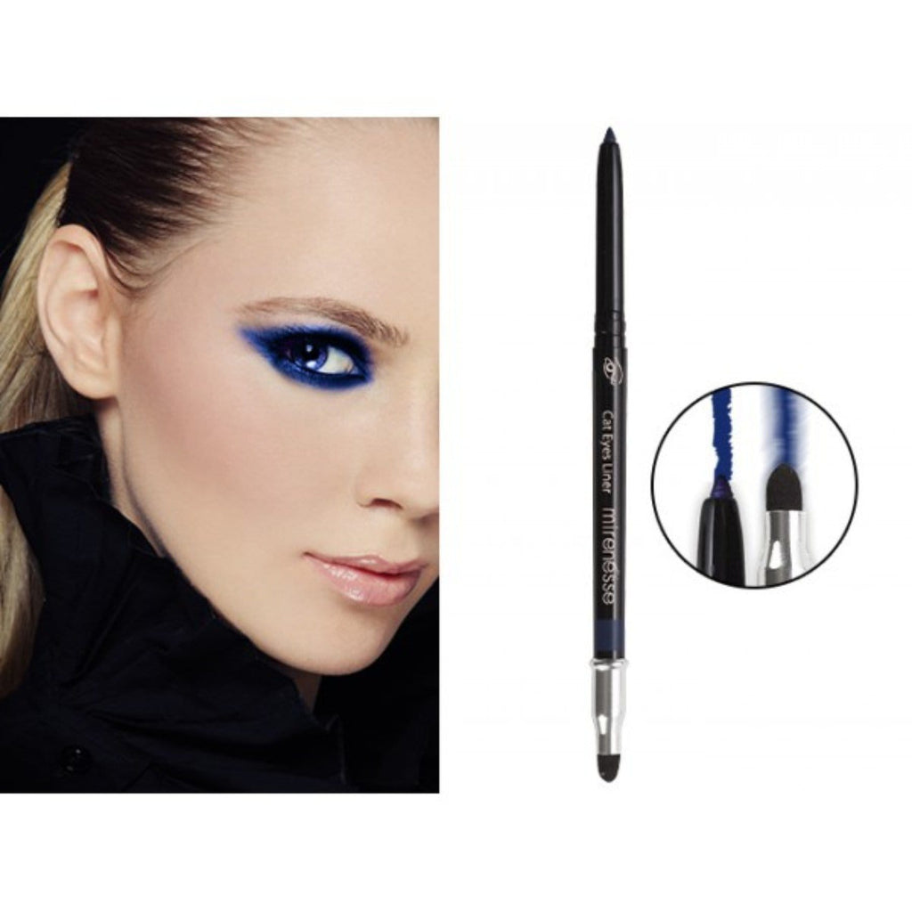 CAT EYES LINER + SMOKEY EYE BLENDER 2. SIAMESE BLUE