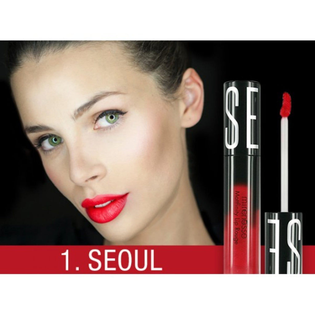 MATTFINITY MATTE LIP ROUGE MOUSSE 1. SEOUL MINI