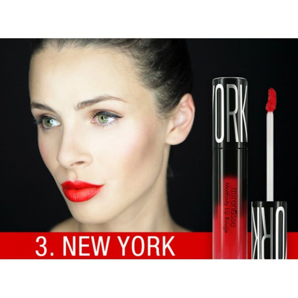 MATTFINITY MATTE LIP ROUGE MOUSSE 3. NEW YORK MINI