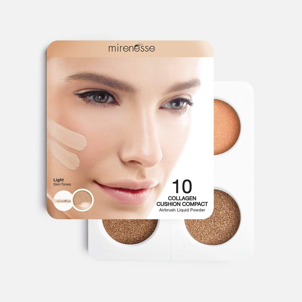 4PCE STARTER COLLAGEN CUSHION FOUNDATION + BLUSH