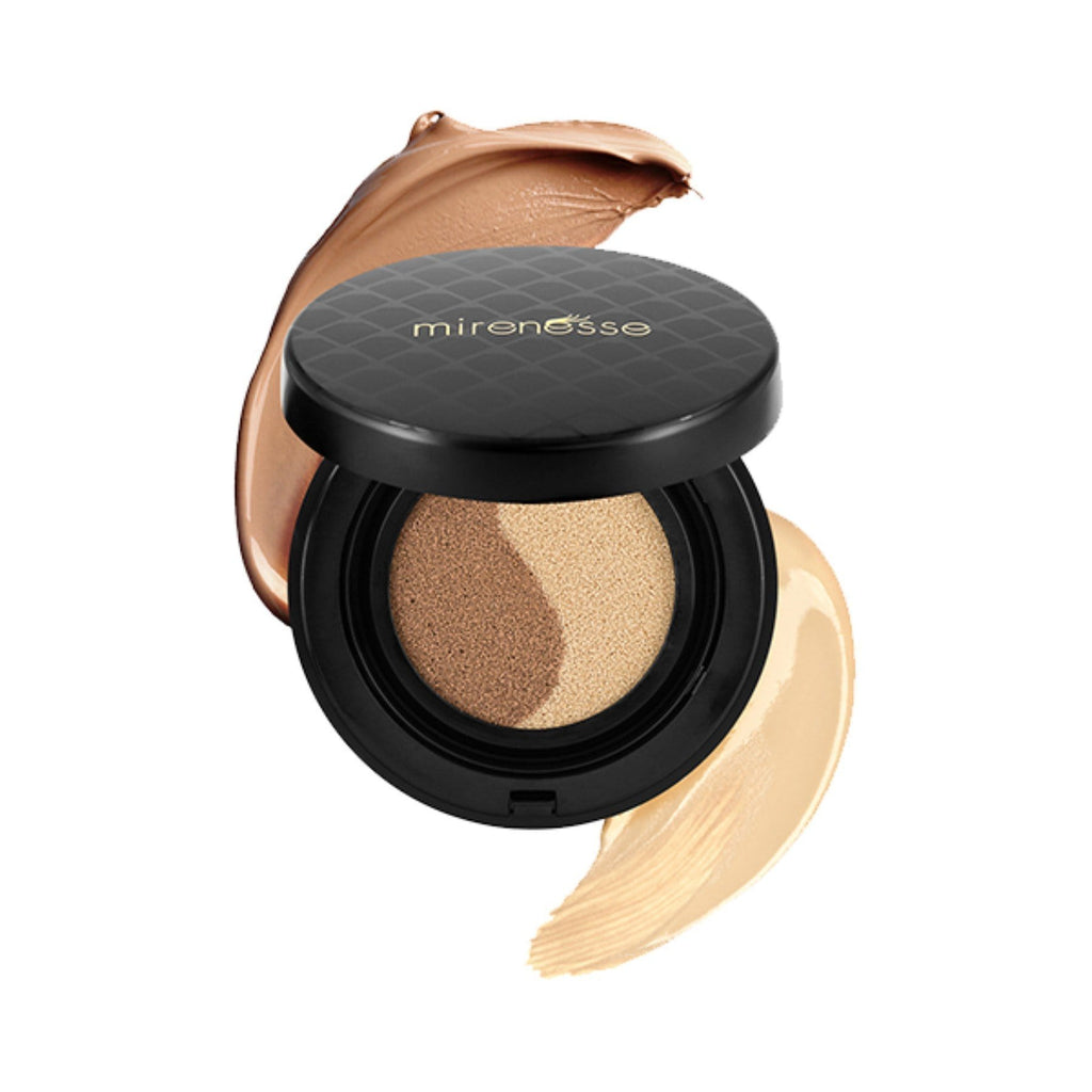INSTANT TANNING GEL- 10 COLLAGEN FACE GLOW CUSHION COMPACT BRONZER