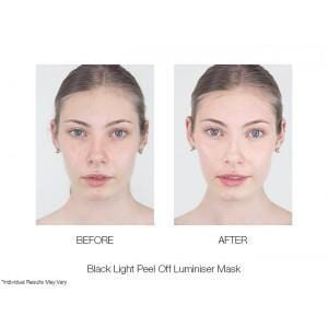 BLACK LIGHT PEEL OFF BRIGHTENING MASK