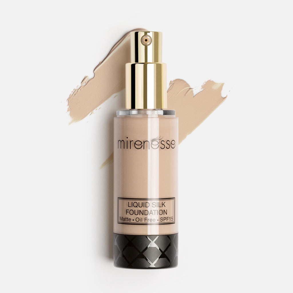 LIQUID SILK FOUNDATION SPF 15