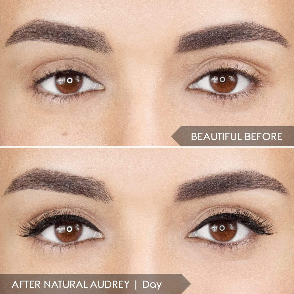 *LIMIT 2* Magnomatic Magnetic Eyeliner + 5D Magnetic Lashes Day & Night Kit -  Natural Audrey