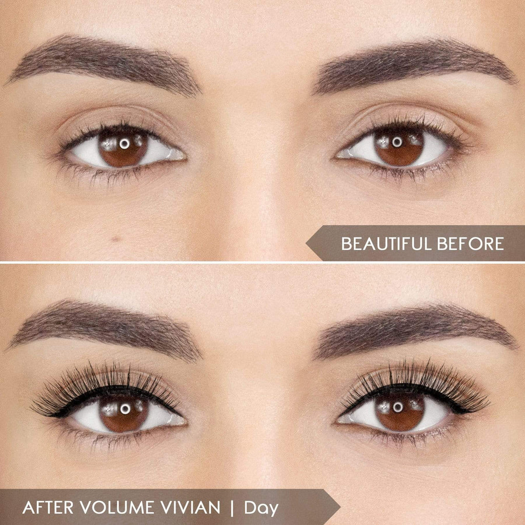 *LIMIT 2* Magnomatic Magnetic Eyeliner + 5D Lashes Day & Night Kit - Volume Vivian
