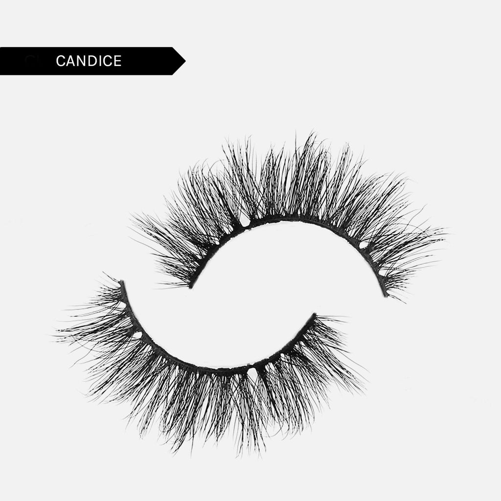 Adhesive Liner + Reusable False Lash Bond Kit - 10. Candice 5D Faux Mink