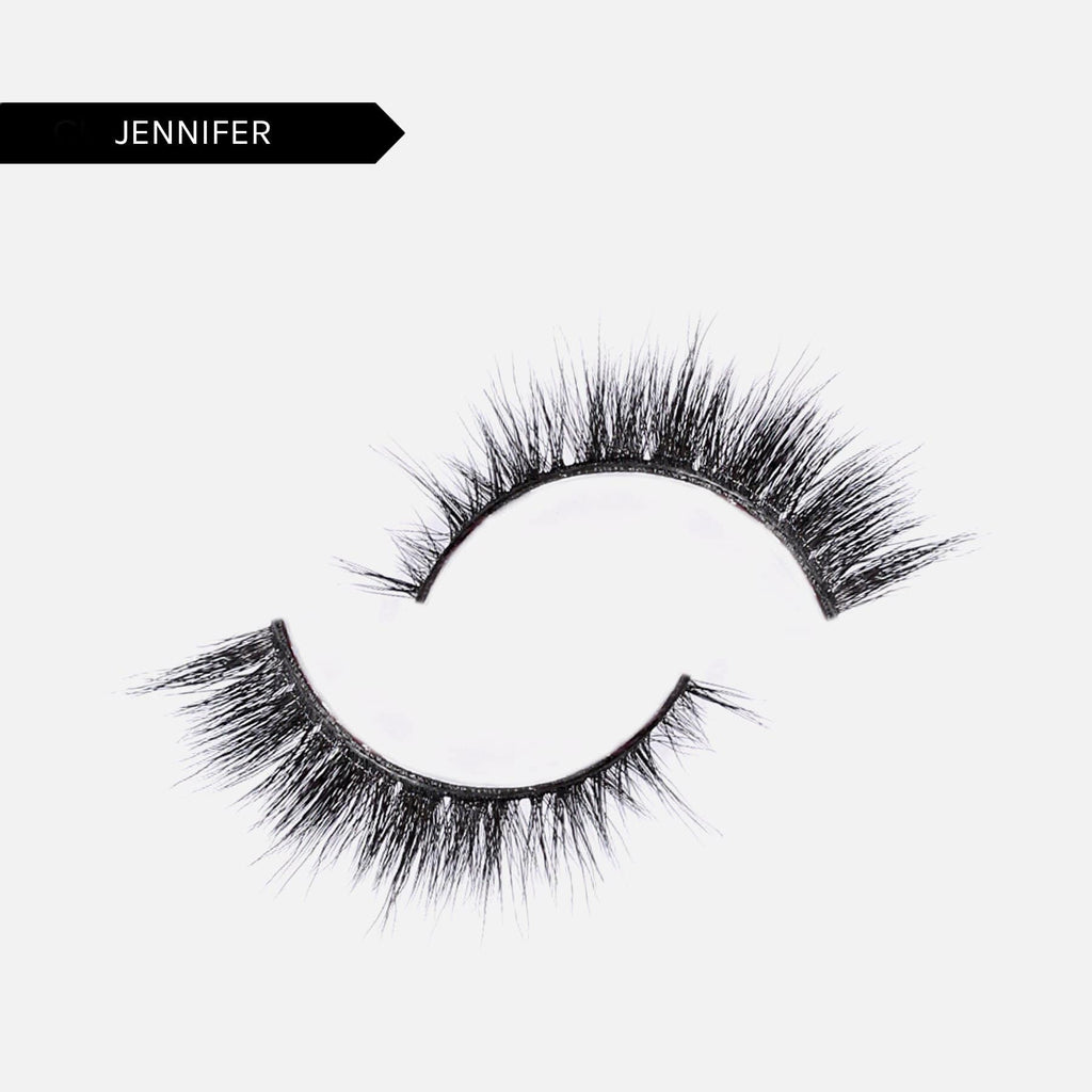 Adhesive Liner + Resusable False Lash Bond Kit - 12. Jennifer 5D Faux Mink
