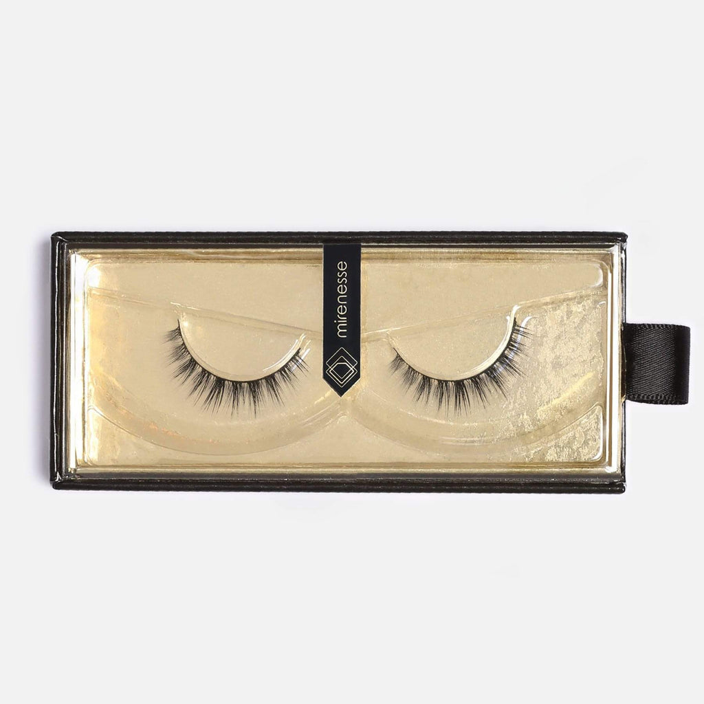 LASH BOND - FOR ALL FAKE LASHES JET BLACK - SET 1. LUCY FAUX MINK