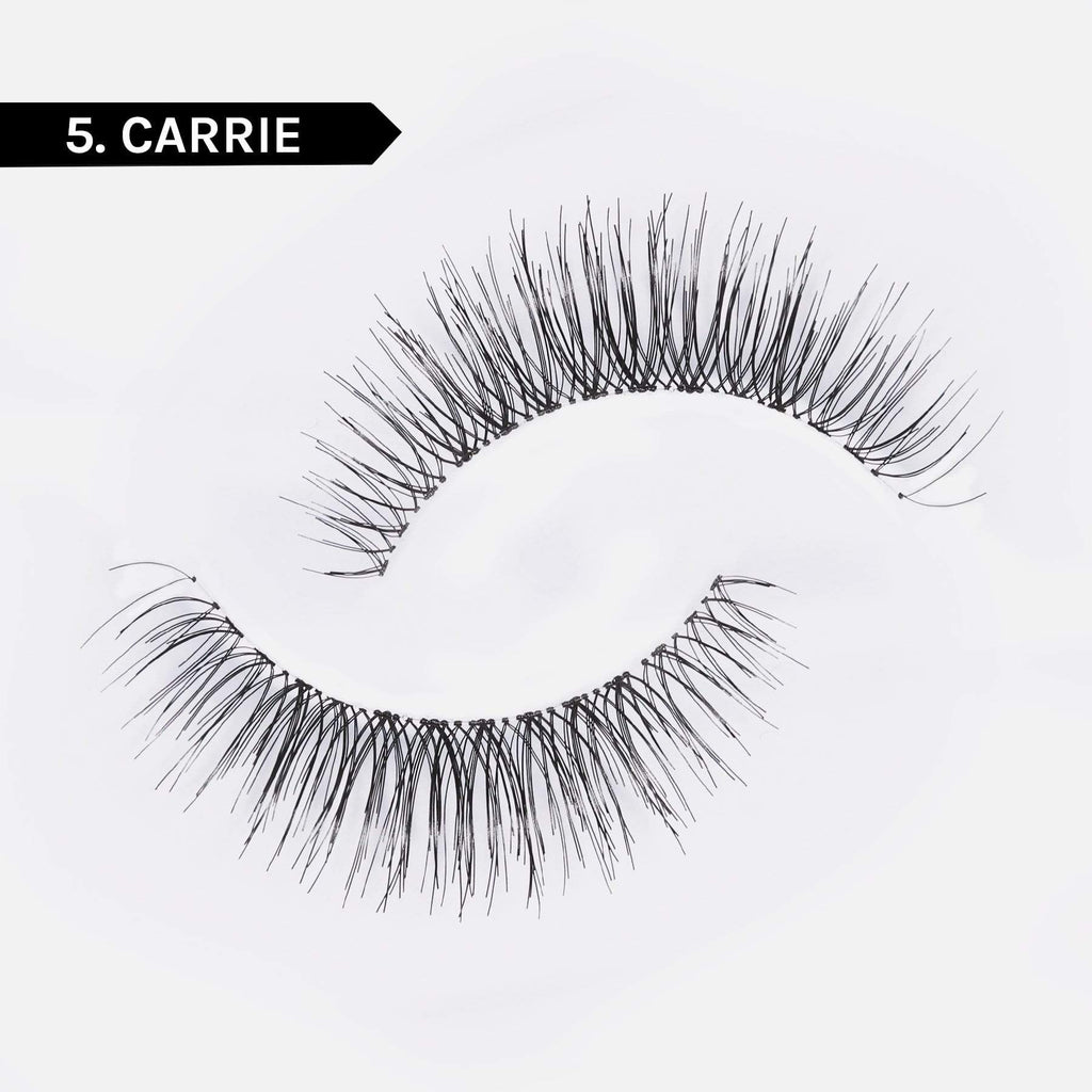 Adhesive Liner + Resusable False Lash Bond Kit  5. Carrie 5D Faux Mink