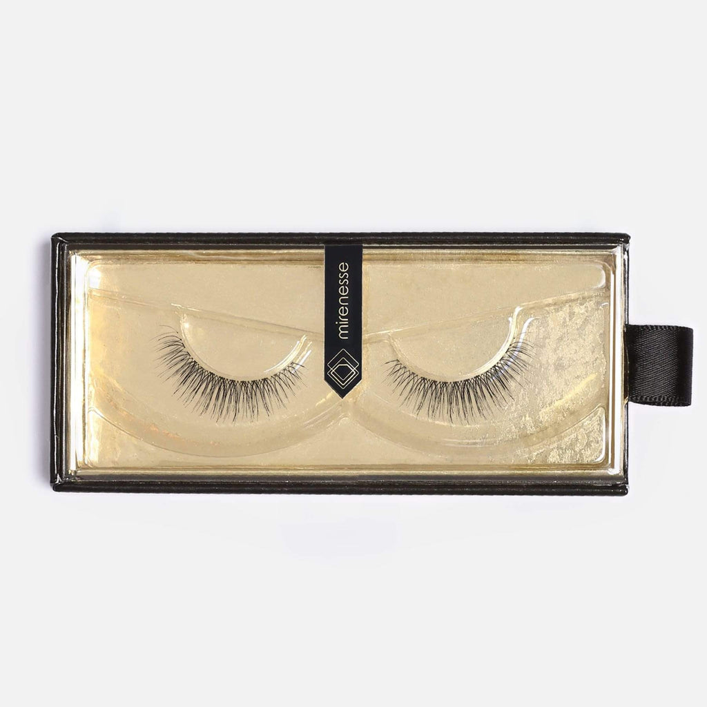 LASH BOND - FOR ALL FAKE LASHES JET BLACK - SET 5. CARRIE FAUX MINK