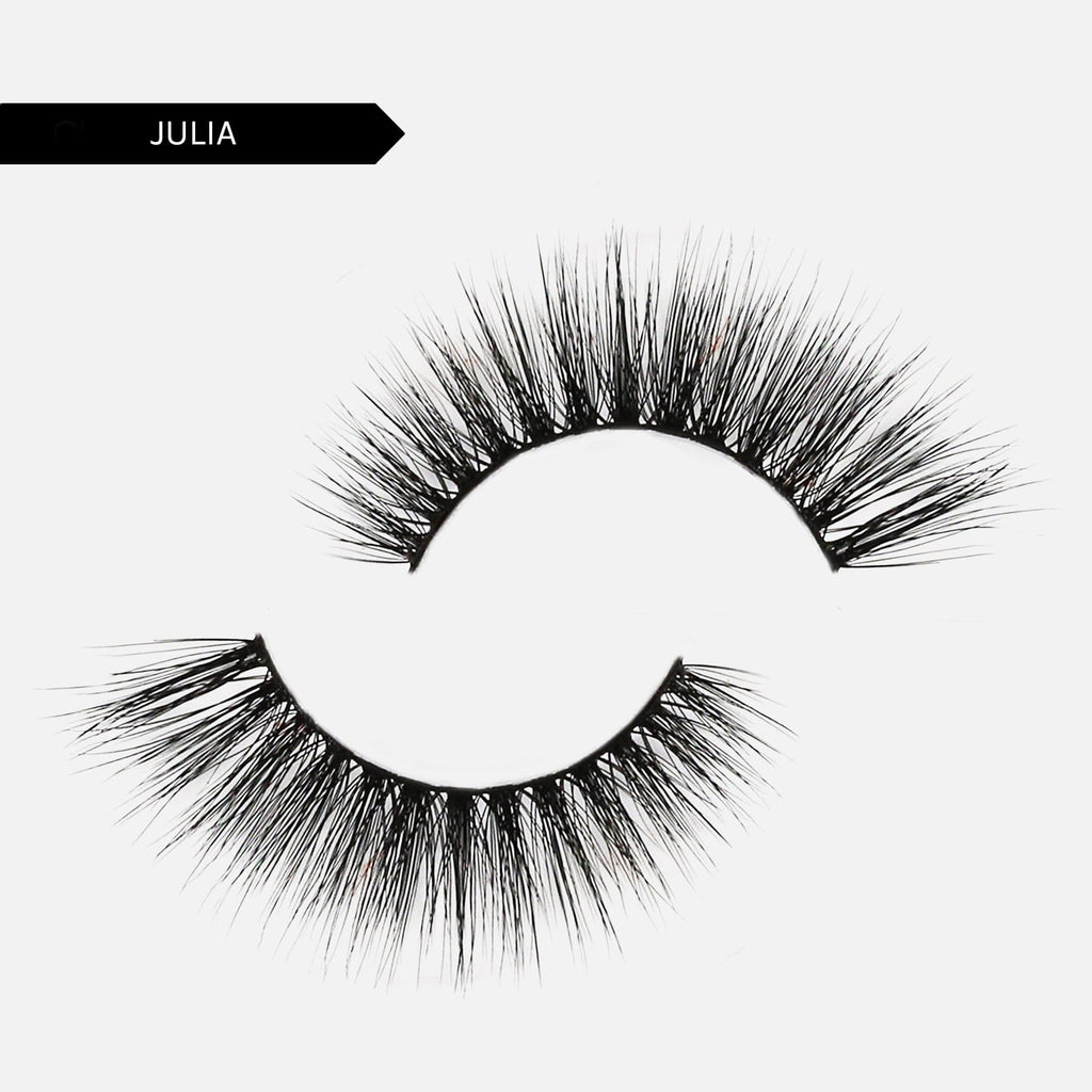 Adhesive Liner + Reusable False Lash Bond Kit - 8. Julia 5D Faux Mink