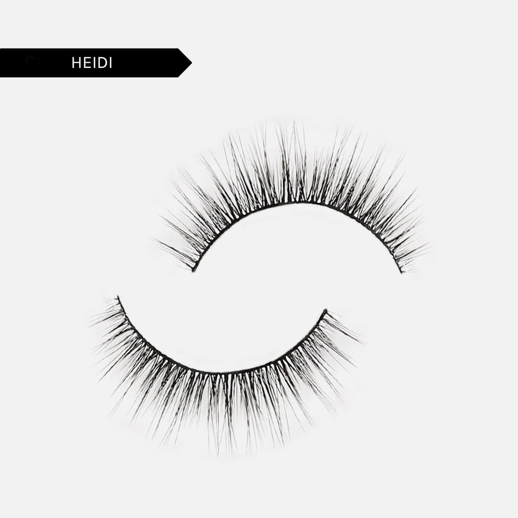 Adhesive Liner + Resusable False Lash Bond Kit  - 9. Heidi 5D Faux Mink
