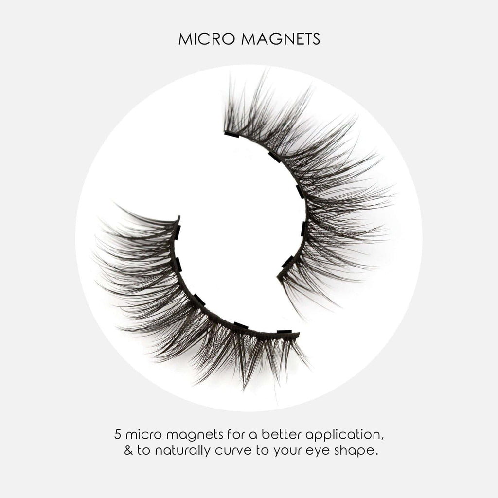 Magnomatic Magnetic Eyeliner + 5D Magnetic Lashes Day + Night Kit -  Natural Audrey