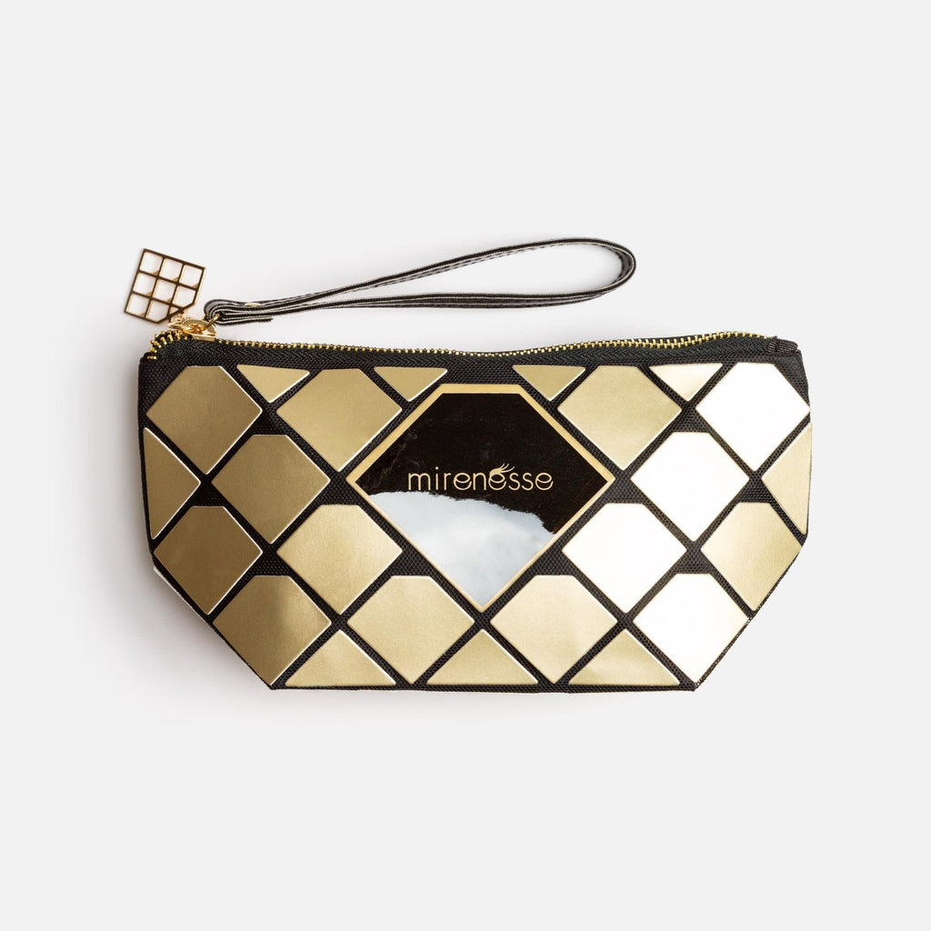 I'M WORTH GOLD N DIAMONDS BAG - VEGAN