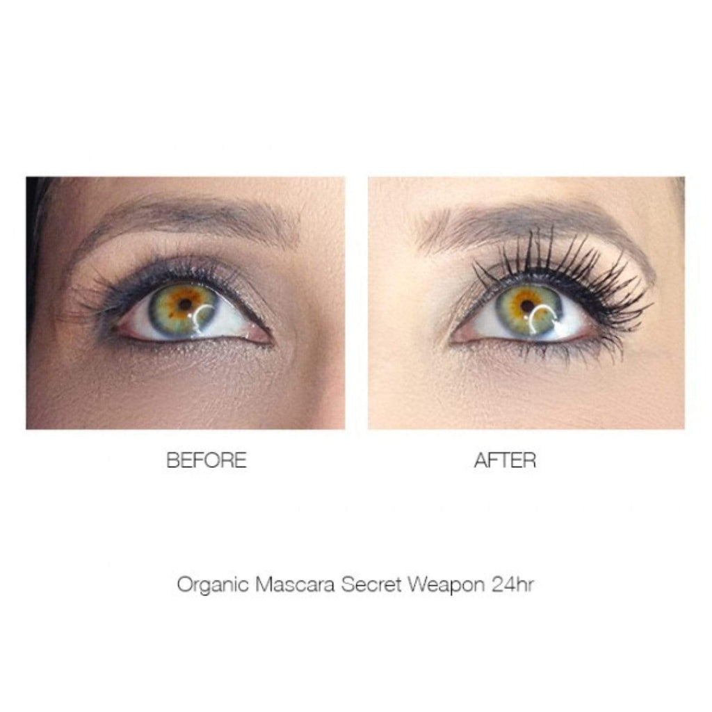 NEW MINI ORGANIC 24HR MASCARA BLACK - WINNER 13 BEST MASCARA AWARDS