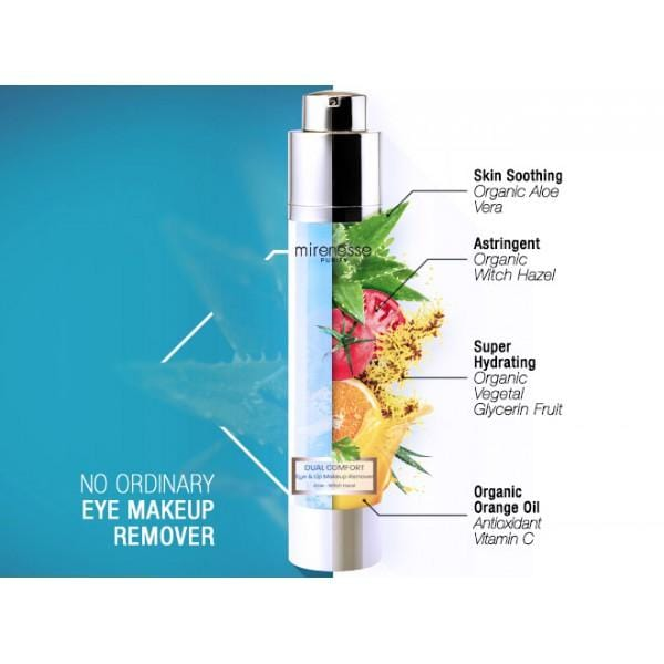 DUAL COMFORT EYE & LIP MAKEUP REMOVER + FREE MINI