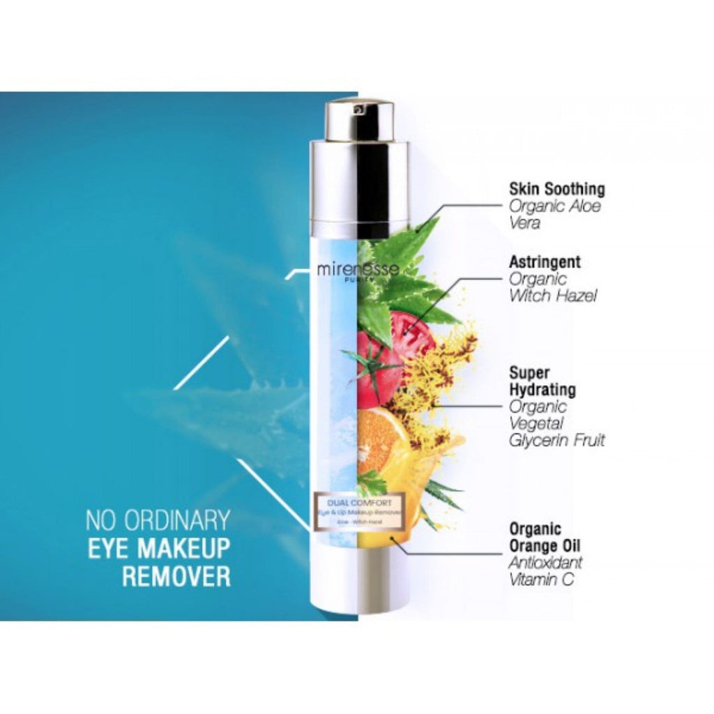 DUAL COMFORT EYE & LIP MAKEUP REMOVER