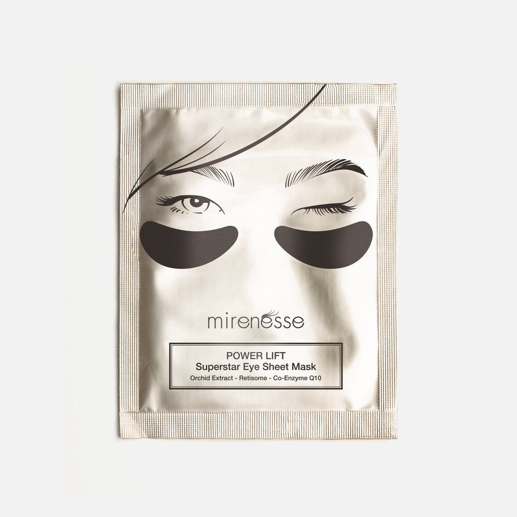 SUPERSTAR EYE SHEET MASK WITH RETINOL- COQ10-ORCHID EXTRACT