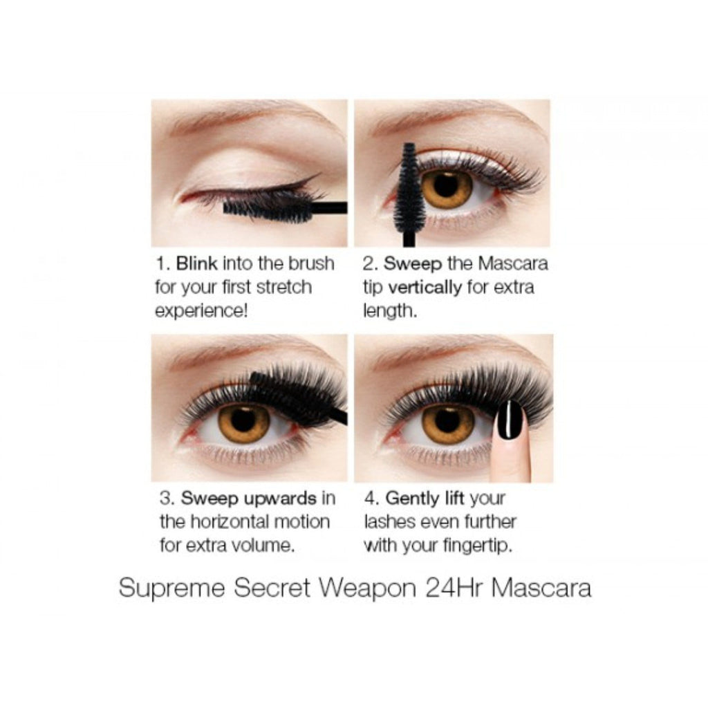 SUPREME 24HR MASCARA BLACK HAVEN