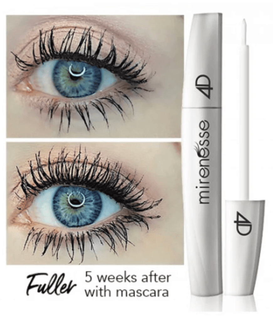 GEN II 4D LASH & BROW GROWTH SERUM MINI - STRONGER & FASTER RESULTS  with 24K Gold