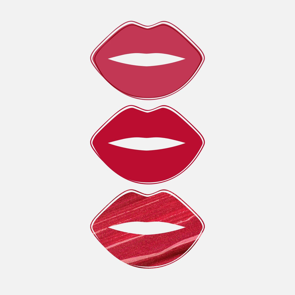 Of Red All Day Lip Kit Matte + Metallic -3pce