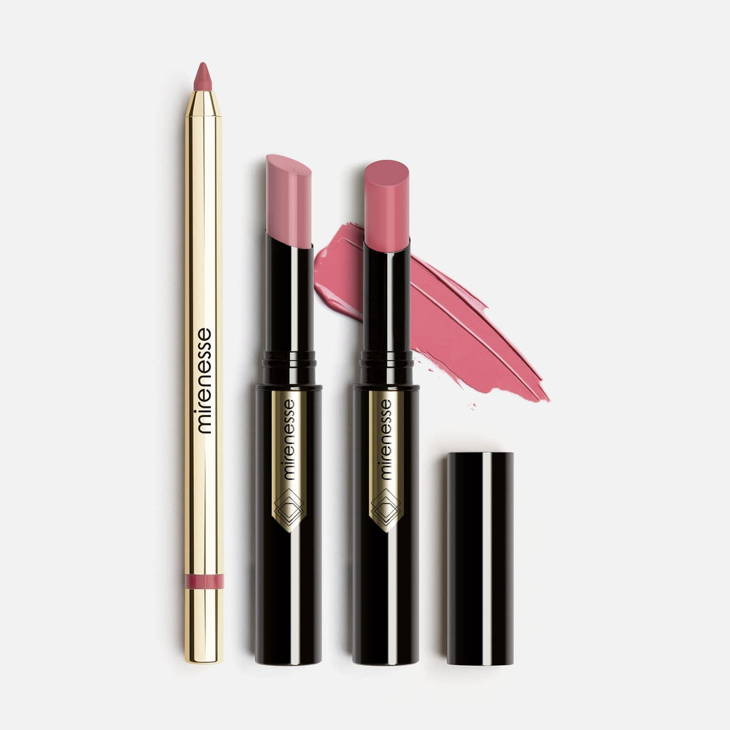 Of Rose Lip Kit Glossy French Kiss-3 Pce