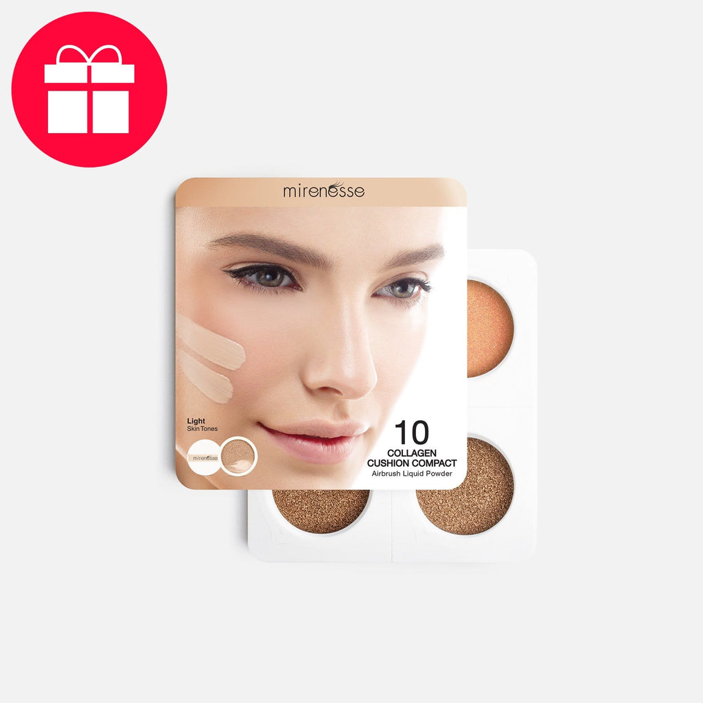 Gift* 4PCE Starter Collagen Cushion Light 13/21 - Valid with orders AUD $99+