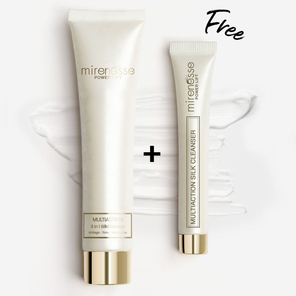 Multi-Action 3-in-1 Silk Cleanser + FREE MINI