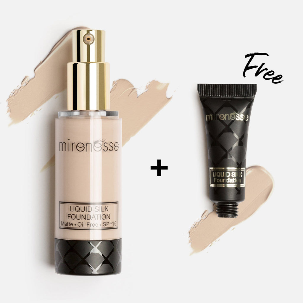 SKIN CLONE LIQUID SILK FOUNDATION SPF15 13. Vanilla + FREE MINI