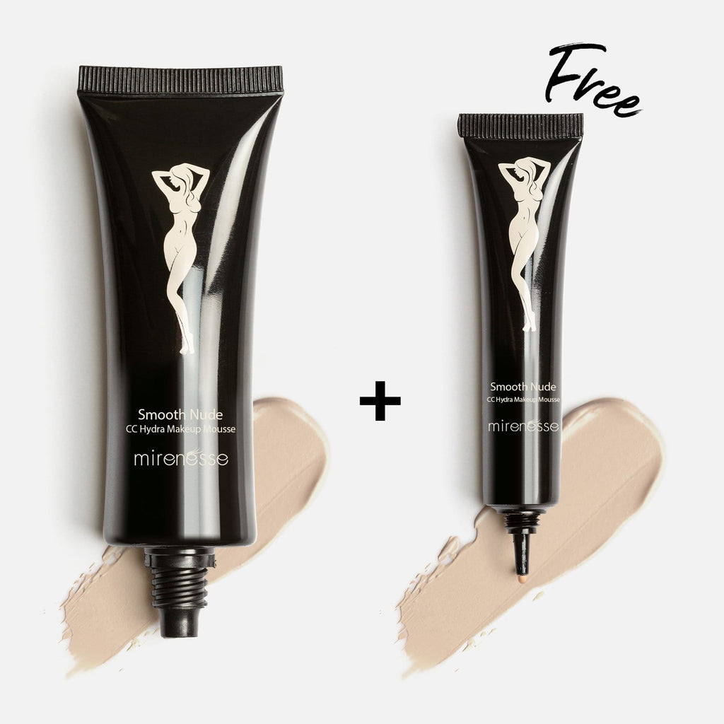 SMOOTH NUDE HIGH COVER MOUSSE FOUNDATION 13. Vanilla + FREE MINI