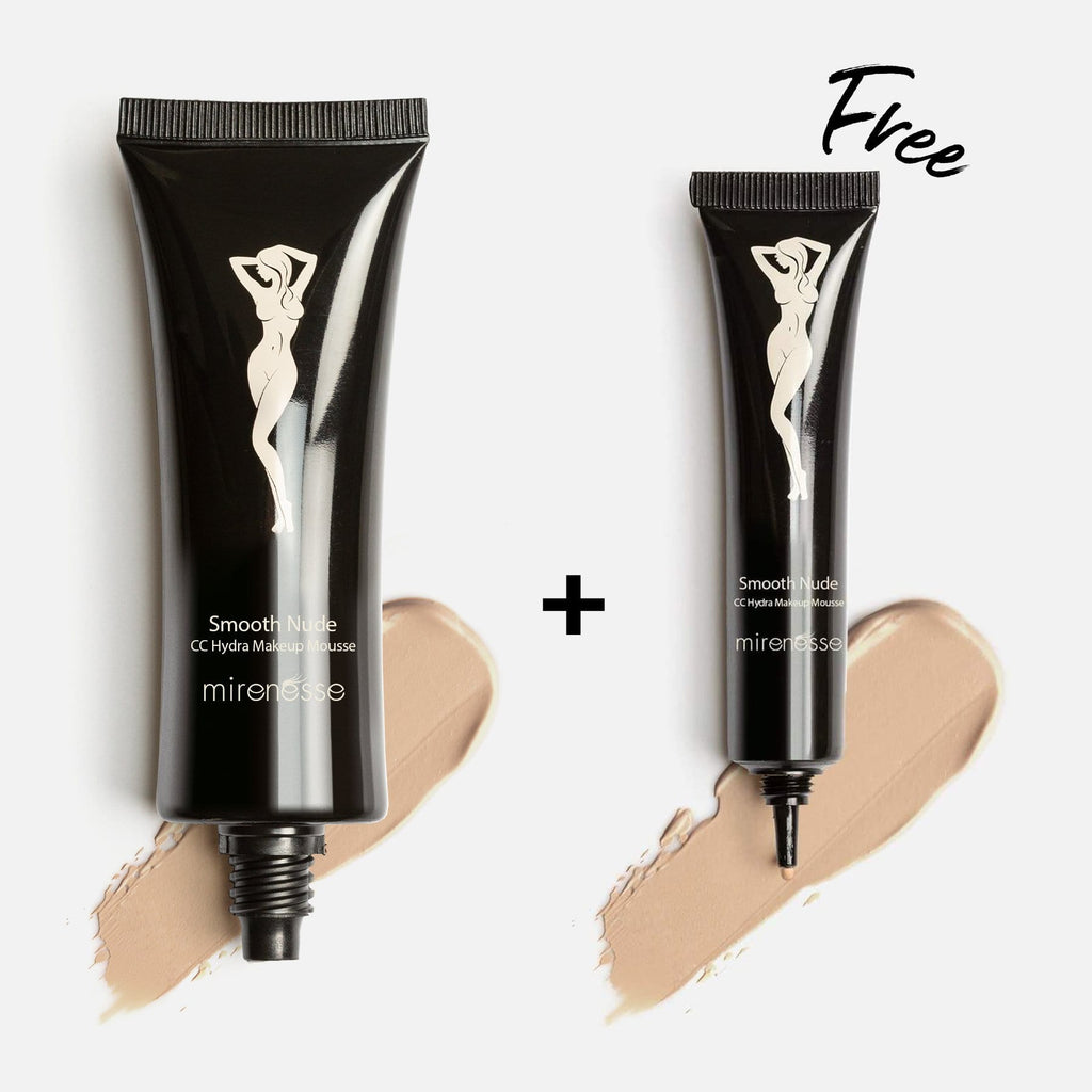 SMOOTH NUDE HIGH COVER MOUSSE FOUNDATION 23. Mocha + FREE MINI