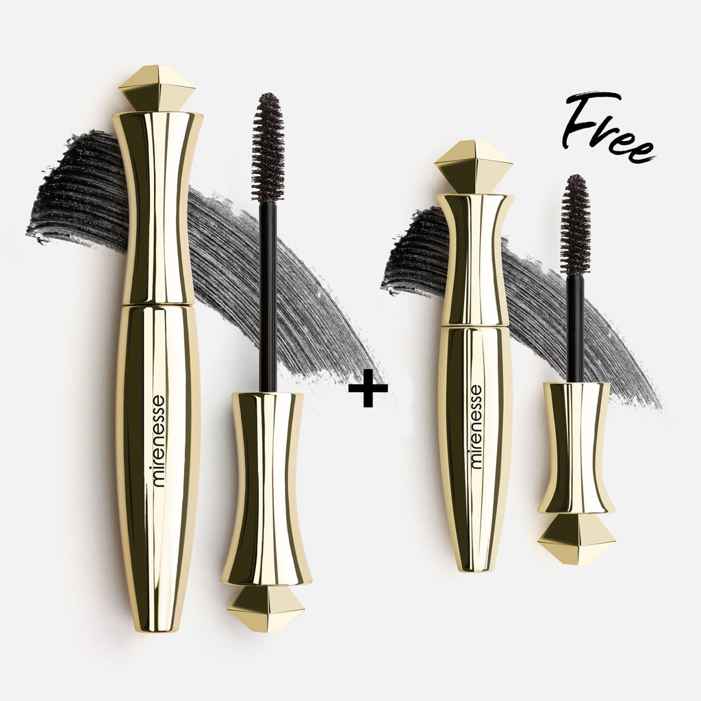 SECRET WEAPON SUPER VOLUME 24HR MASCARA Black + FREE MINI
