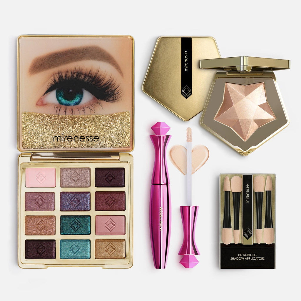 20th Anniversary Eyeshadow & Spellbound Highlighter 4pce Kit 1. Solid Gold