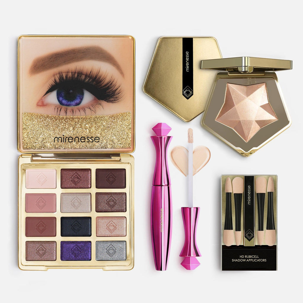 20th Anniversary Eyeshadow & Spellbound Highlighter 4pce Kit 2. Nude Opals