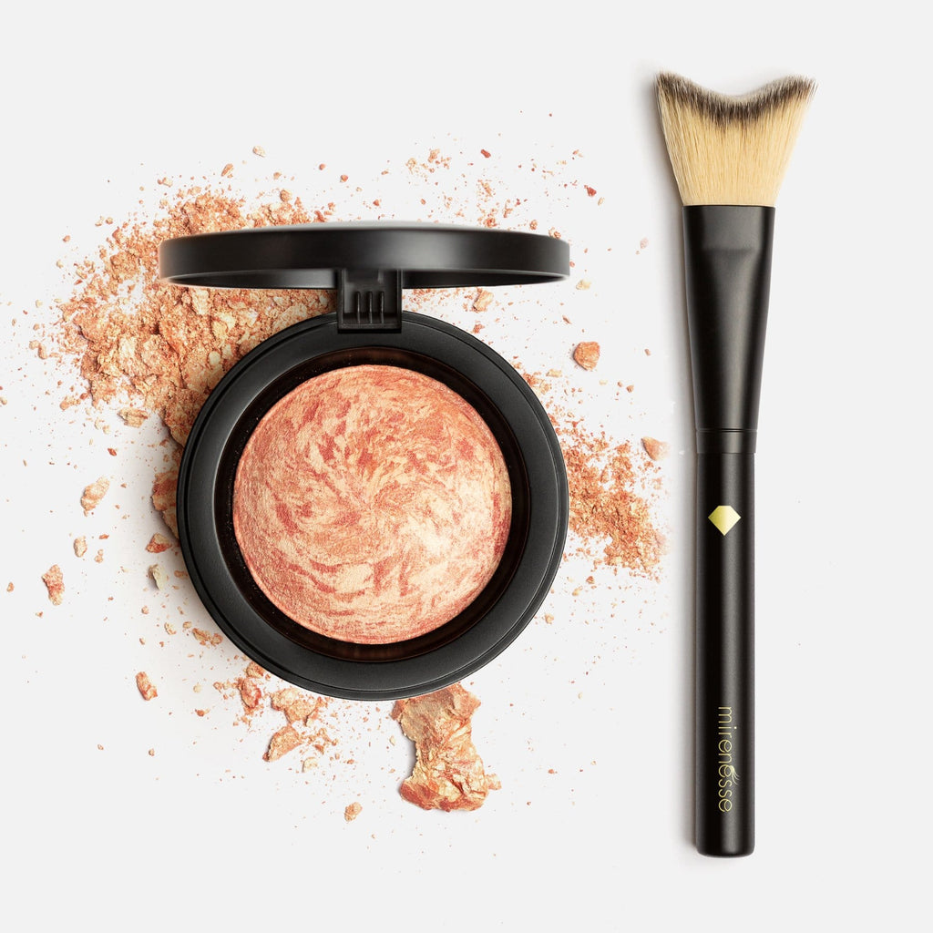 Marble Blush + Highlight Brush Minerals Carrara Coral