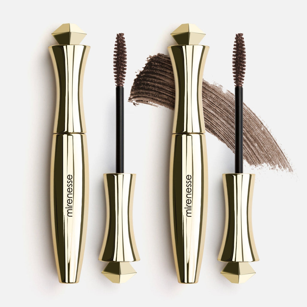 TWIN SECRET WEAPON 24HR MASCARA KIT - ORIGINAL BROWN
